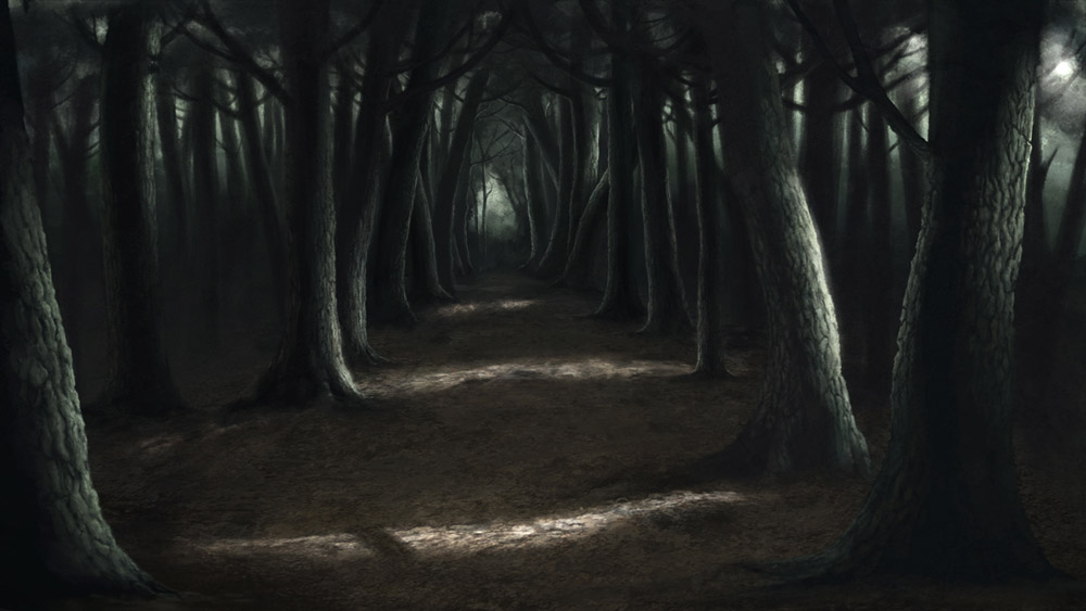 Backgrounds for animation the optimistic painting blog - Scary animated backgrounds ...